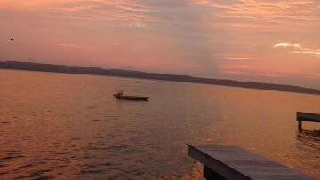 Finger Lakes Vacation Rental 2018 Annual Sunset Photo Winner