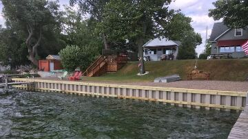 Finger Lakes Vacation Rental Cottage View from the Lake