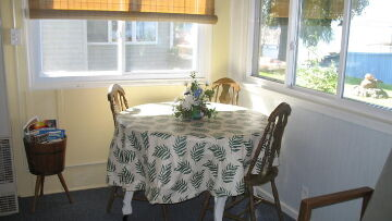 Finger Lakes Vacation Rental Dining Area