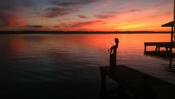 Finger Lakes Vacation Rental Gorgeous Sunset