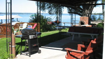 Finger Lakes Vacation Rental Patio