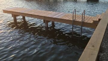 Finger Lakes Vacation Rental Private Dock