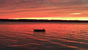 Finger Lakes Vacation Rental Sunset