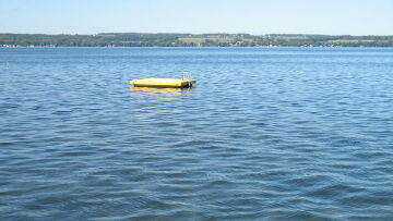 Finger Lakes Vacation Rental Swim Float