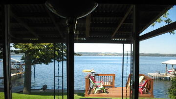 Finger Lakes Vacation Rental View From Living Room