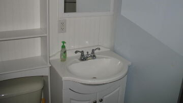 Finger Lakes Vacation Rental Wash Basin