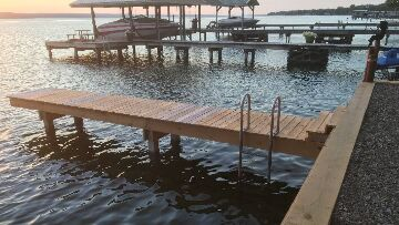 Finger Lakes Vacation Rentals - New Dock